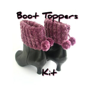 Boot Toppers Knit Kit
