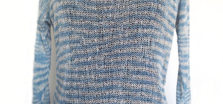 Lace banana top – free pattern