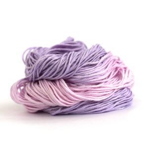 DK Bamboo yarn in shade Lilac Blossom