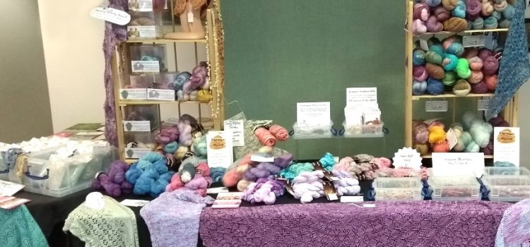 Perran Yarns at St Agnes Community Market Sep17