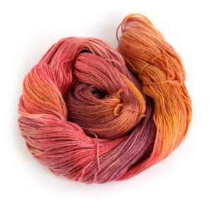 4ply Merino Tencel in shade Sunset Party