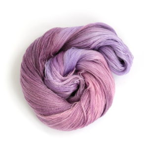 Lace Merino Tencel in shade Buddleia