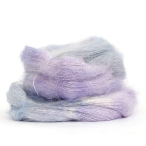 Lace Mohair Silk in shade Fairy Dust