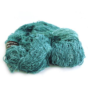 4ply Cotton Slub yarn megaskein in shade Ocean