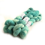 4ply Platinum mini skein in Seafoam
