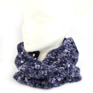 Chevron Cowl Crochet Kit