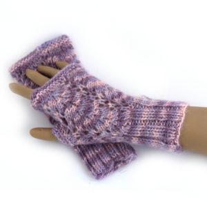 Vine Lace Mitts Knit Kit
