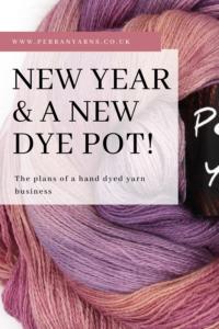 2021 New Year New dye pot