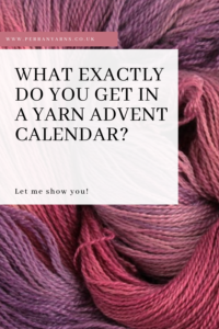 What do you get in a yarn advent